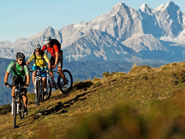 Take part on a guidet bike tour from the Tauerhof